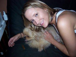 Kaylee, the webutante, mac fiend, web developer, graphic designer and dude the dog lover